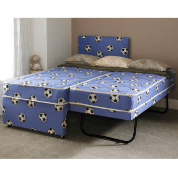 3FT SINGLE 3 IN 1 FOOTBALL GUEST BED SET