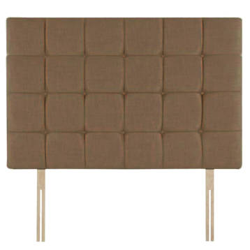 CHENILLE 32″ CUBES HEADBOARD BUTTON ON