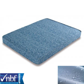 BREATHABLE MEMORY FOAM MATTRESS TOPPERS + WATERPROOF REMOVABLE COVER