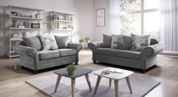 NICOLE CHESTERFIELD SOFA 3+2 SEATER