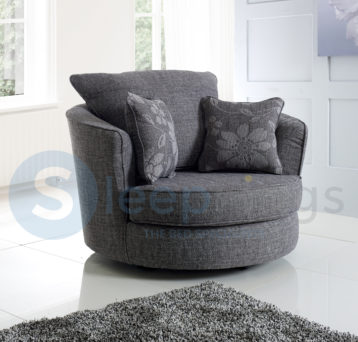 NEWTON SWIVEL CHAIR GREY