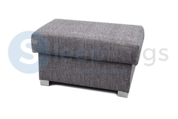 NEWTON FOOTSTOOL GREY