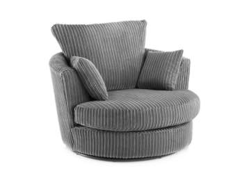 AYMI SWIVEL CHAIR GREY