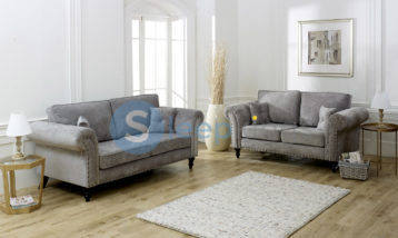 MAYFAIR 3+2 SET GREY