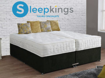 PLUSH VELVET ZIP AND LINK BED POCKET SPRUNG MATTRESSES