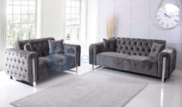 TUXEDO CHESTERFIELD 3+2 SOFA SET