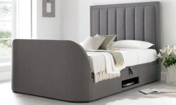 SMART TV BED OTTOMAN STORAGE