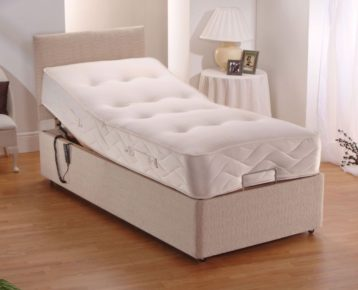 HEAVY DUTY ELECTRIC BED USER WEIGHT UPTO 25 STONE WITH POCKET SPRUNG MATTRESS