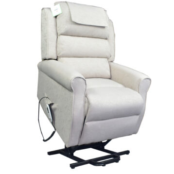 ELECTRIC ADJUSTABLE MOTOR CHAIR CREAM